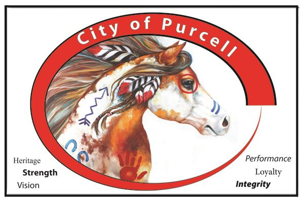 City of Purcell Logo Warrior Horse 2 X 3 ratio 4x6 sm