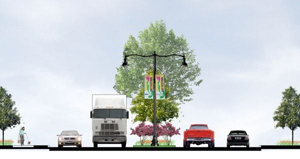 North Green Avenue Rendering