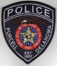 Police Purcell Oklahoma badge